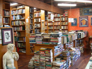 Iliad Bookshop's front room