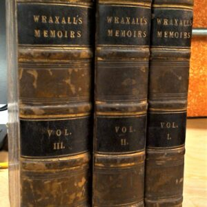Wraxall set spines