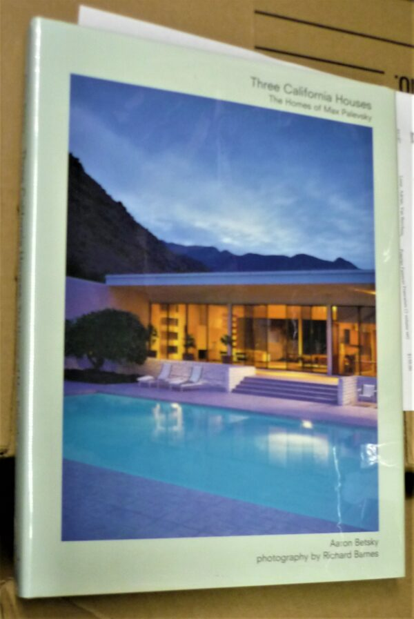 Three California Houses front cover