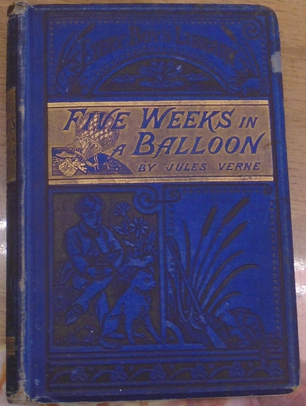 Five Weeks in a Balloon front cover