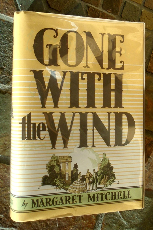 Gone With the Wind facsimile jacket front