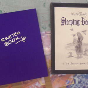 Sleeping Beauty slipcase and front cover