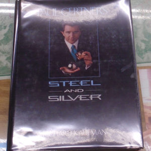 Steel and Silver front cover