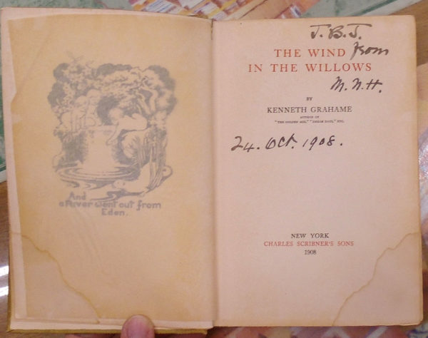 Wind in the Willows title page