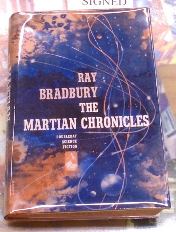Martian Chronicles facsimile jacket