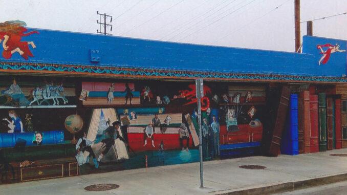 Cahuenga wall of Iliad's mural