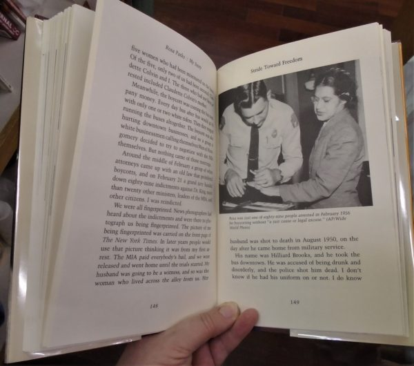 Rosa Parks interior pages