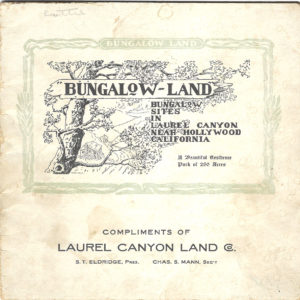BungalowLand cover
