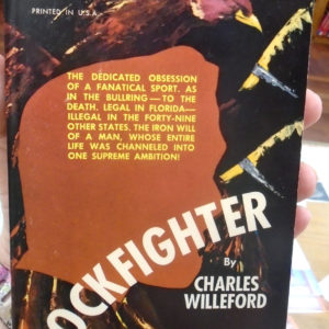 Cockfighter front cover