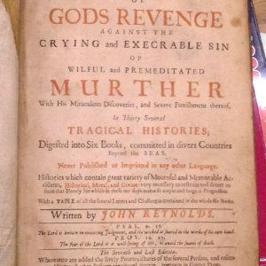 Triumphs of Gods Revenge title page