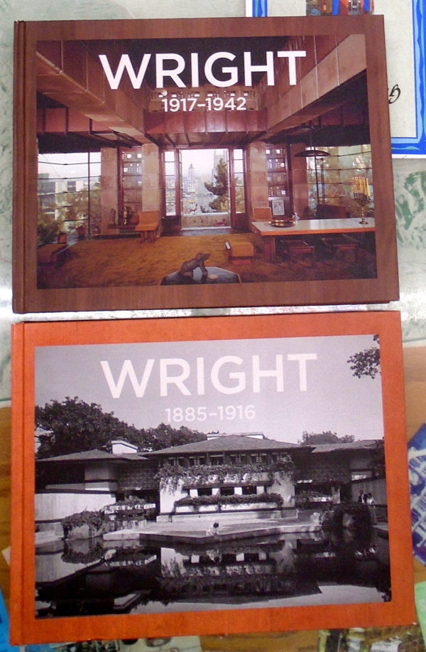 Frank Lloyd Wright set front covers