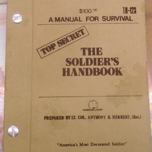 Soldiers Handbook cover