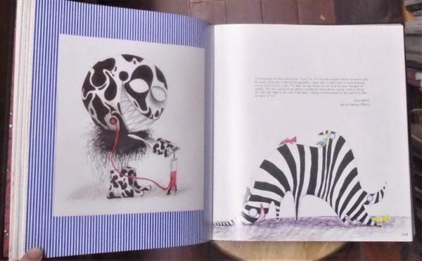 Art of Tim Burton interior pages