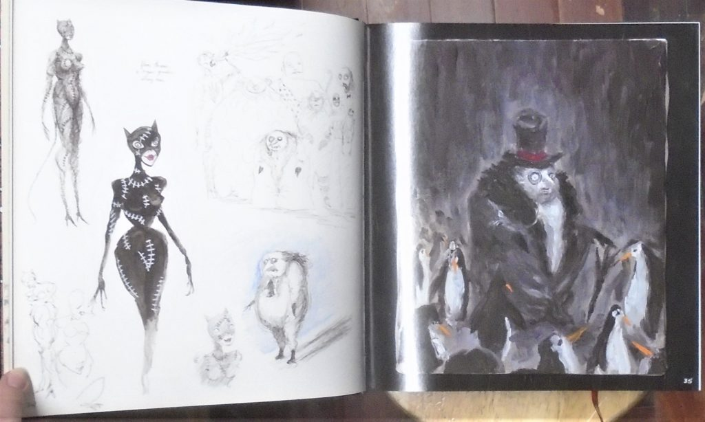 تصرخ النجار تصادم Tim Burton Art Book Ffigh Org