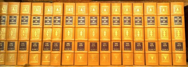 The History of America spines