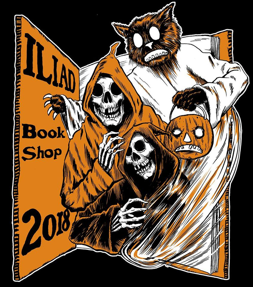 2018 Halloween shirt art by Matthew Kirscht