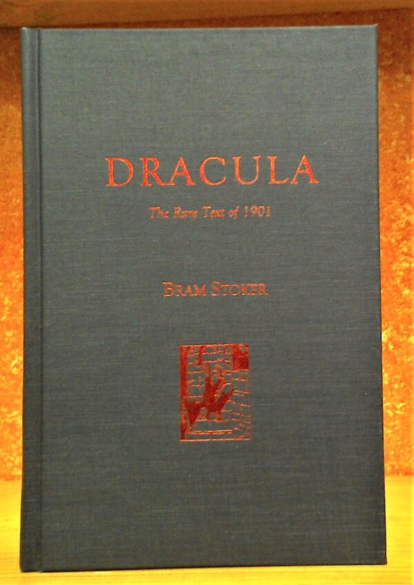 Cover for Dracula The Rare Text of 1901