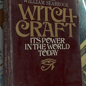 Witchcraft by Seabrook front cover