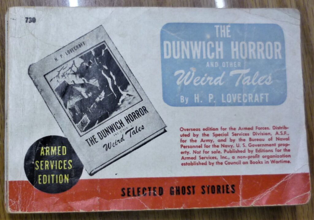 The Dunwich Horror cover