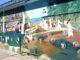 Chandler wall mural restored
