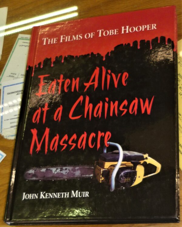 Eaten Alive at a Chainsaw Massacre front cover