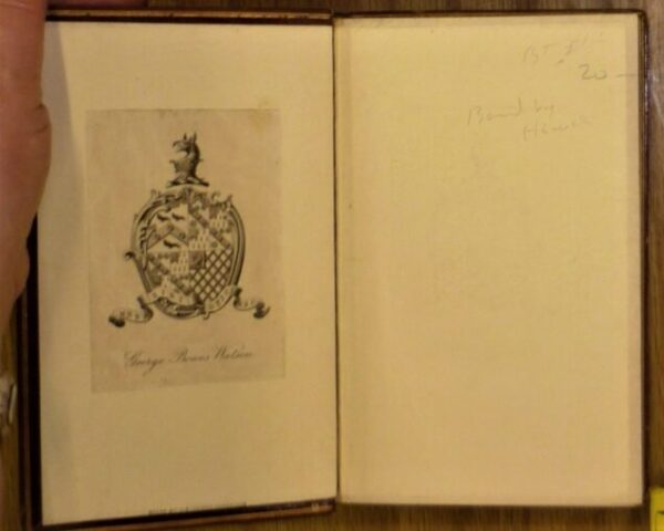 Hawes Idylls of the King endpapers
