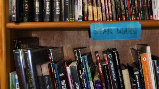 Star Wars shelves