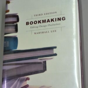 Bookmaking front cover
