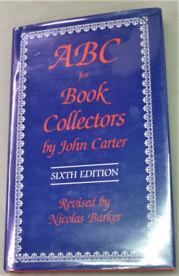 Front cover from ABC for Book Collectors