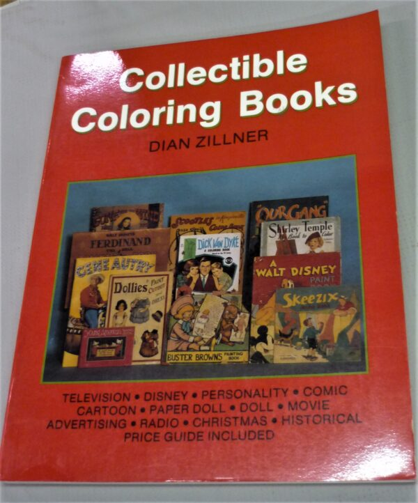 Front cover from Collectible Coloring Books