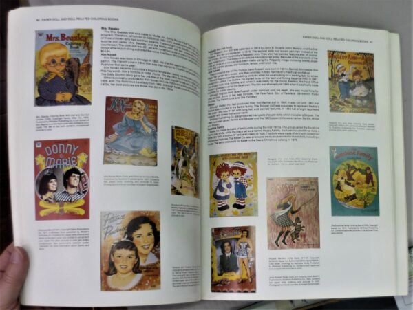 Pages from Collectible Coloring Books