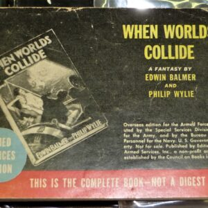 When Worlds Collide Armed Services Edition front cover