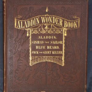 Front board from The Aladdin Wonder Book