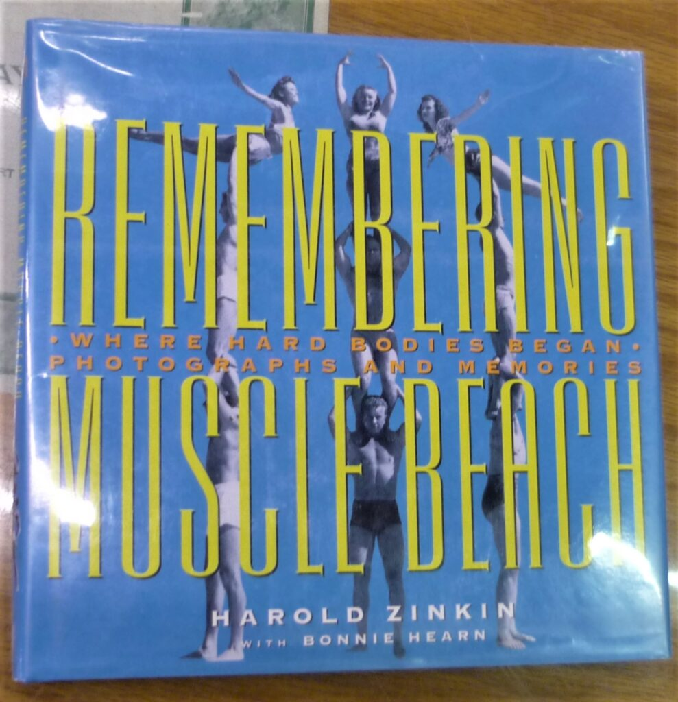 Remembering Muscle Beach jacket front