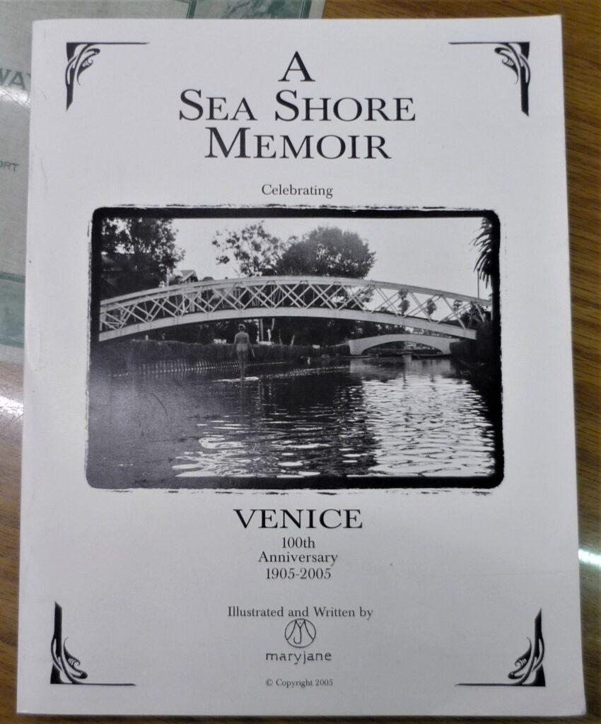 Sea Shore Memoir front cover