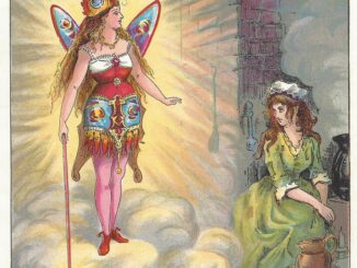 Illustration from 1888 Cinderella