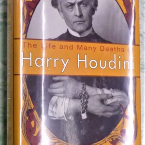 Life and Many Deaths of Houdini jacket front